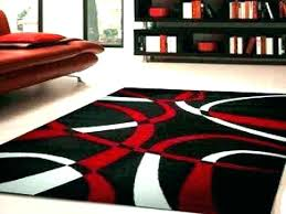 red and white area rug red black white rug black red white area rugs red black