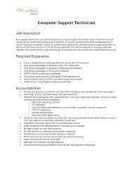 Computer Technician Job Description Resume Job Description For Mechanic Savebtsaco 9