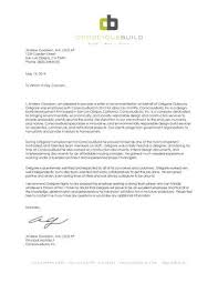 Letter Of Recommendation For Internship Letter Of Recommendation Intern Architect By Gregoire