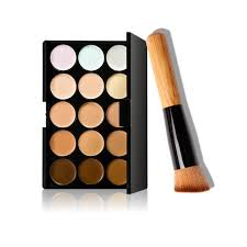 10 15cm natural professional concealer palettes 15 colors makeup foundation face cream cosmetic make