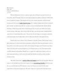 Informal Letter Essay Examples Informative Samples Paragraph