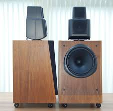 kef 104 2. 107/2 - same comment about the size. 104/2, 105/2 and integrate very well in any living room. they look small sound big. kef 104 2