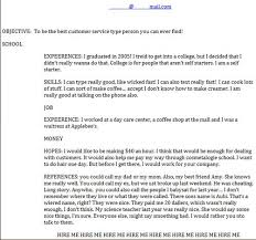Funny Resume Awesome 554 The 24 Funniest Job Resumes Of All Time WorldWideInterweb