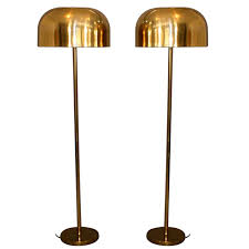 12 photos gallery of old vintage brass floor lamp