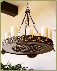 candle chandelier non electric
