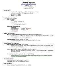 Make A Professional Resume