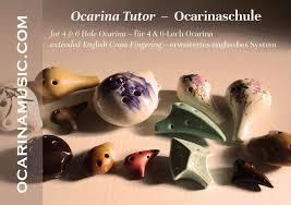 Ocarina Tutor For The 4 6 Hole Ocarina Ocarina Musikhaus