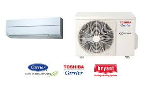 carrier bryant and toshiba carrier ductless