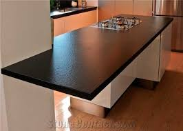 black color quartz stone rock solid surface with suede texture for kitchen countertops 2cm thick with scratch resistant and stain resistant