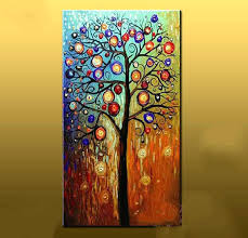 cheap abstract wall art hand painted abstract oil painting large canvas art cheap modern abstract tree paintings living room wall pictures home decor from  on hand painted canvas wall art uk with cheap abstract wall art hand painted abstract oil painting large