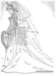 Small Picture BARBIE COLORING PAGES BARBIE WEDDING DRESS COLORING PAGES Cool
