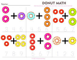 Prek Math Worksheets Pre K Addition Number Shapes Christmas Kids ...