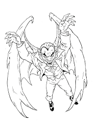 Monster Coloring Pages 2017- Dr. Odd