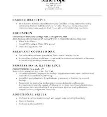 Good Objectives For Resume Accounting Manager Resume Objective Entry Level Statement