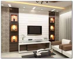 led tv panel design for living room