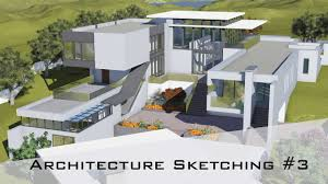 How To Design A House Architecture Sketching 3 How To Design A House From Rough Sketch To 3d Model