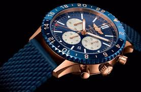 Replica Fake Chronoliner Watches Uk Fascinating Blue And Wholesale Feature Dials Chronomat Breitling