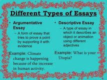 different kinds of essay writing microgrid thesis human different kinds of essay writing