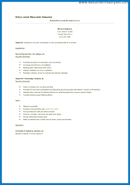 Entry Level Resume Templates Amazing Entry Level Resume Template Skills Examples Job Microsoft Word
