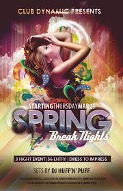 Club Flyer Templates Free Free Club Flyer Templates For Spring Break Photoshop Psd