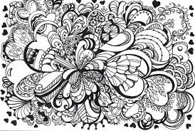 Small Picture Zentangle Patterns Coloring Pages In Zendoodle creativemoveme