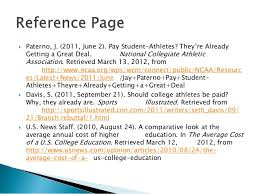 college athletes getting paid essays paraphrasing essay  should college athletes get paid essays