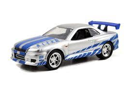 nissan skyline fast and furious 7. jada toys fast and furious 7 155 scale diecast car 2002 nissan skyline