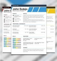 Photoshop Resume Template Ideas Simple Detail Easy Cool Format Job