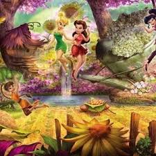 <b>Фотообои Disney Fairies</b> Forest (3,68х1,27 м) – Telegraph