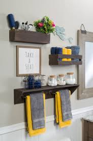 Adding extra storage is a practical way to make over any space! Via Rust-