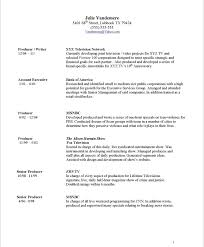 objective samples for a resumes resume samples tv producer blue sky resumes blog