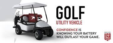 Golf Utility Vehicle Nev Ev Trojan Battery Company