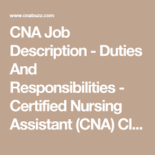 Duties And Responsibilities Of A Cna 13 Essential Cna Job Duties And Responsibilities What Do