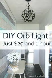orb light chandelier make a orb light fixture this orb chandelier is easy and inexpensive to orb light chandelier