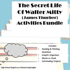the secret life of walter mitty activity bundle james thurber pdf