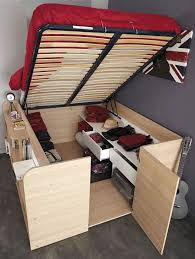 DIY Storage Bed Projects Change Clothes and Diy storage bed