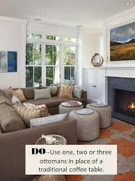 a large oversized coffee table is a great option to pair with a large sectional the weight of each will feel balanced against each other and within the