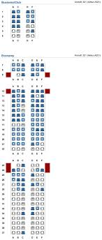 321 Seating Chart Seating Guide Airbus A321 Short Haul Page 16 Flyertalk