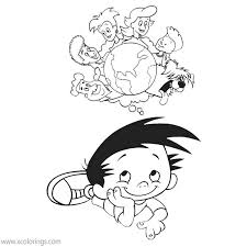 Your children will never get bored going through everything there is to color. Bobby S World Coloring Pages Bobby S Family Xcolorings Com