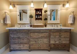 rustic bathroom double vanities. Delighful Bathroom Modern Rustic Bathroom Lightning Combination Vanity Design For Double Vanities L
