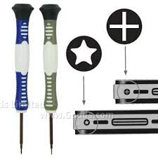iphone repair kit. open tool repair kit with pentalobe/pentacle and cross/phillips screwdriver for iphone 5 iphone b