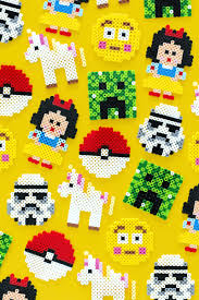 Cool Designs With Perler Beads Kid Friendly Perler Bead Patterns Party Favors A Subtle