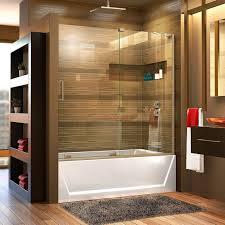 frameless bathtub doors frameless hinged tub door home depot bathtub doors bathtub doors