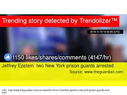 Jeffrey Epstein Prison Guards Arrested - LIVE COVERAGE