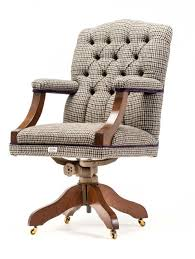 upholstered office chairs. Funky Retro Harris Tweed Upholstered 70\u0027s Swivel Office Chair. Chairs