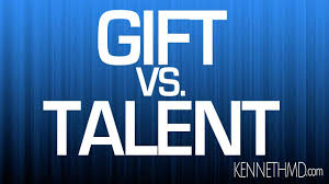 the difference between a talent and a spiritual gift clearly explained