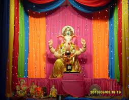 ganesh chaturthi decoration images for home ganesh chaturthi