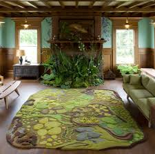 the angela adams forest floor treasure tapestry is absolutely wild a surreal spillage of colour and shapes inspired both by the forest and ocean floor