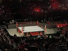 Wells Fargo Wwe Raw Seating Chart Wells Fargo Center Section Cb12 Row 2 Wwe Monday