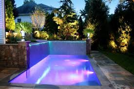 swimming pool lighting options. Wonderful Lighting Medium Size Of Small Inground Pool Designs With Purple Outdoor Lights  Around Landscape Lighting Swimming Light And Options